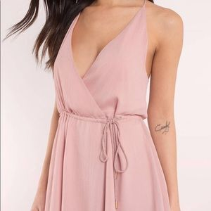 Tobi | It's a Wrap Dress | Blush | Size Small